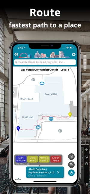 Las Vegas Event Maps on the App Store