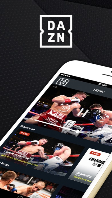 DAZN: Live Boxing, MMA & MLB Screenshot