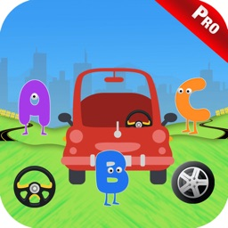 Baby Car Word Search Kids Game