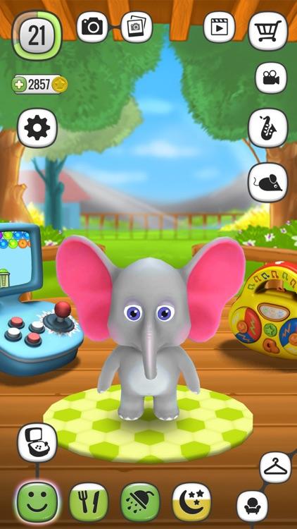 My Talking Elephant Elly screenshot-0