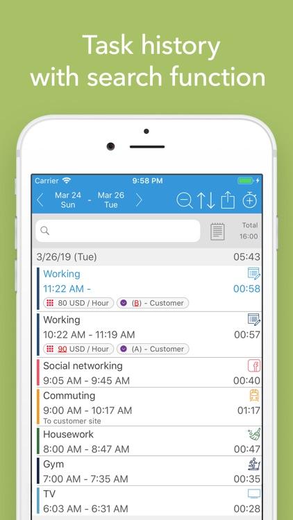 ATracker Time Tracker screenshot-3