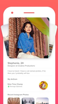 Tinder iphone images