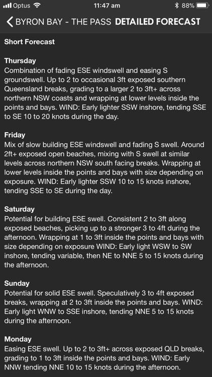 Coastalwatch Surf Check screenshot-3