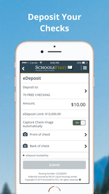 SchoolsFirst FCU Mobile screenshot-2
