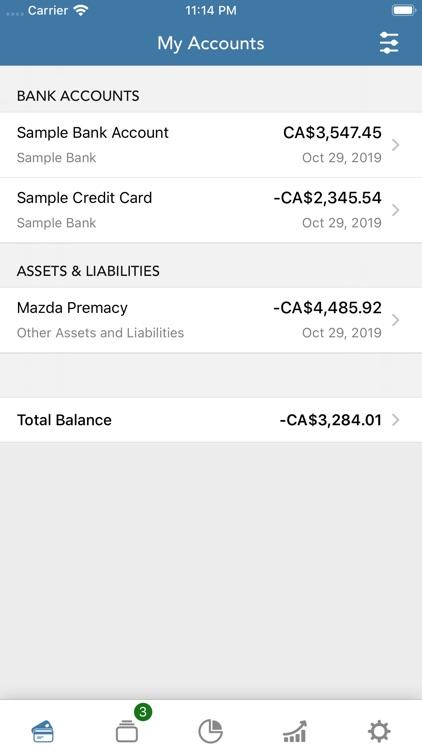 PocketLion PocketSmith Budget