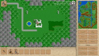 Screenshot #1 pour Warlords Classic Strategy