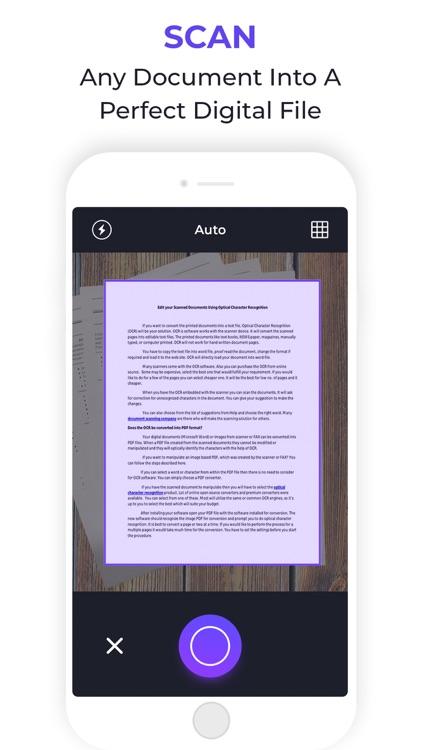 Simple Scan: Docs, PDF, OCR