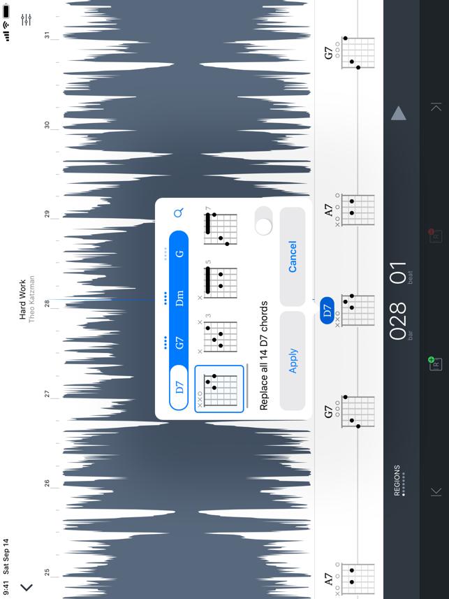 Capo touch Screenshot