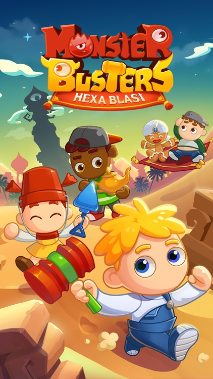 Monster Busters: Hexa Blast screenshot-5