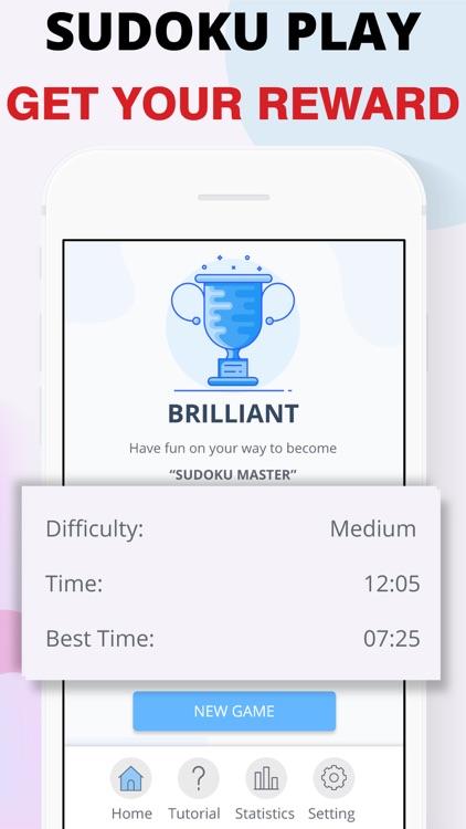 Sudoku - Number Puzzles Game screenshot-6