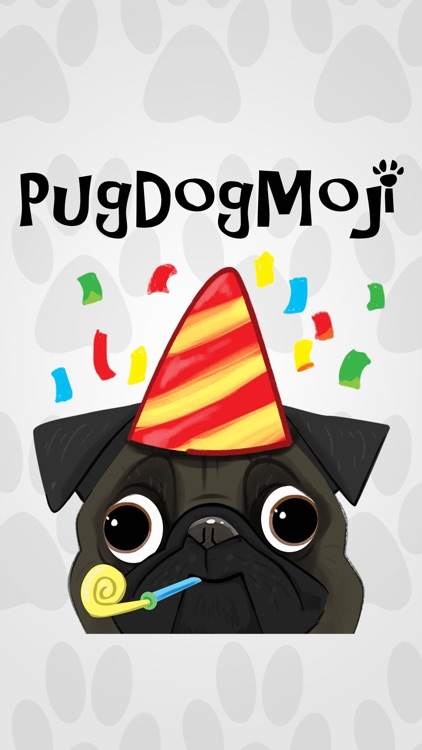 Pug Dog Emoji Stickers screenshot-0
