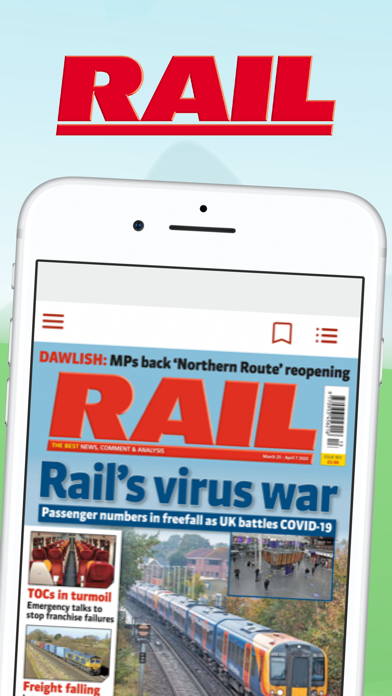 RAIL Magazine screenshot one
