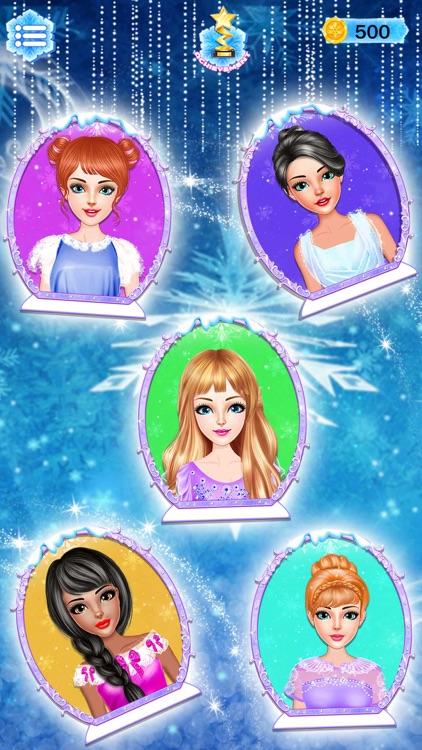 Ice Princess Dress Up Designer screenshot-3