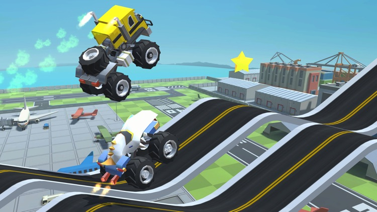 Stunt Racing Car - Sky Driving