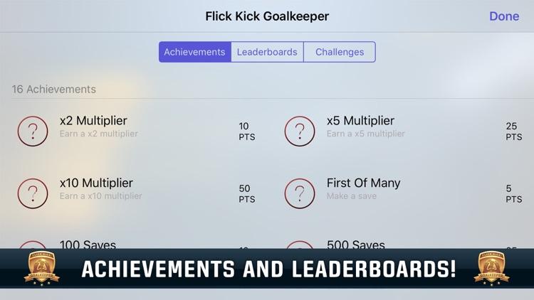 Flick Kick Goalkeeper