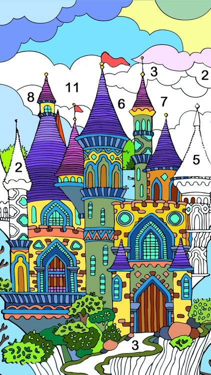 Paint.ly: Color by Number Game screenshot-4