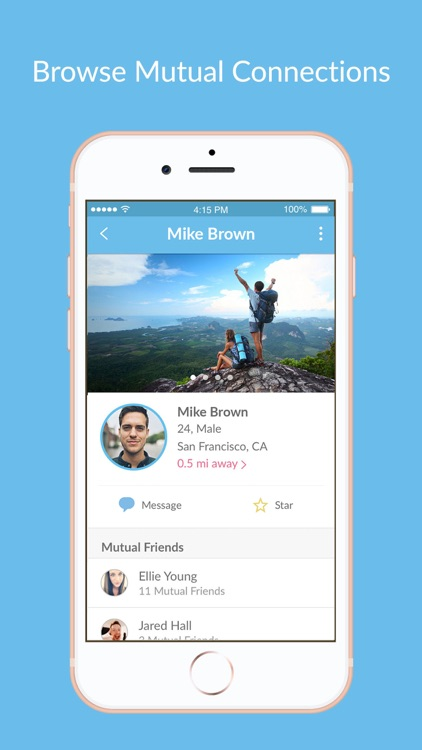 Two Degrees: Friends Finder
