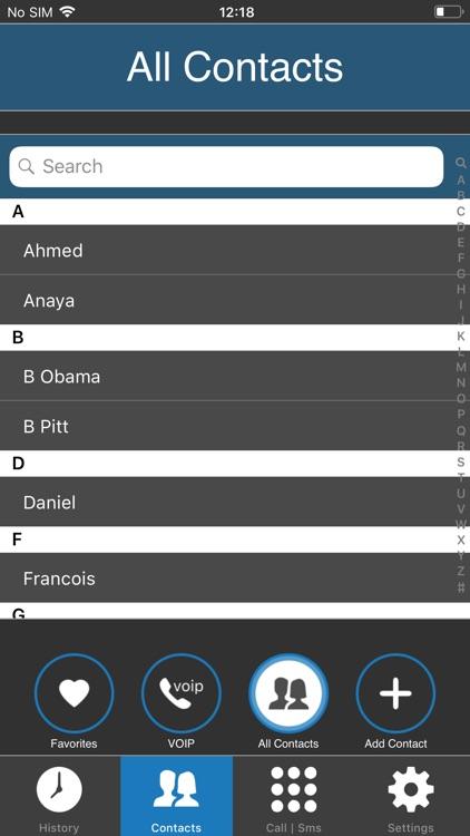 MobileVOIP - Cheap calls screenshot-5