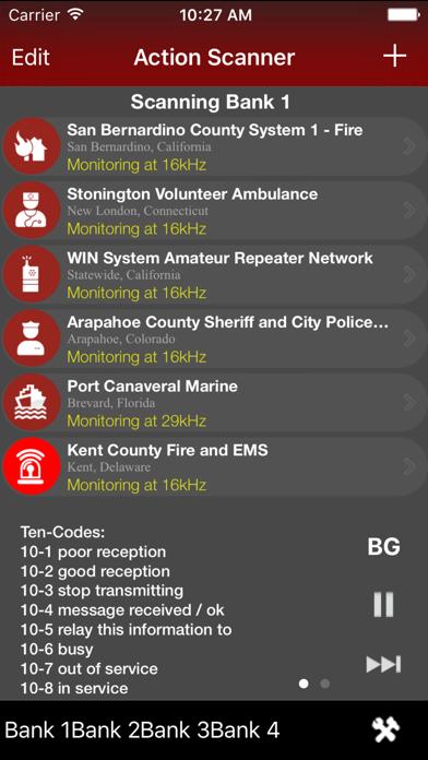 Action Scanner Radio PRO screenshot1