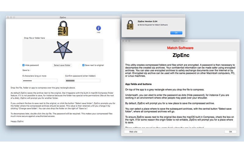 ZipEnc for Mac