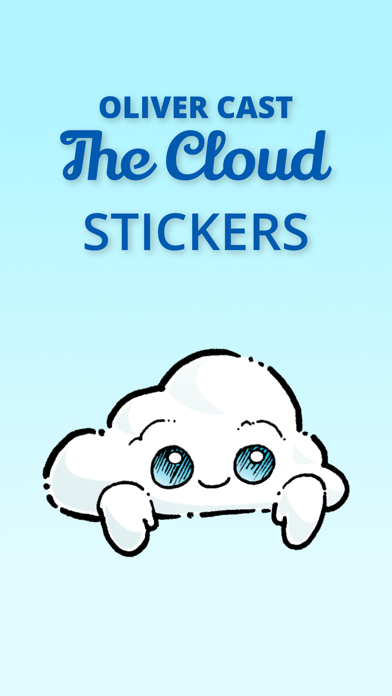 Oliver Cast The Cloud Stickers 1