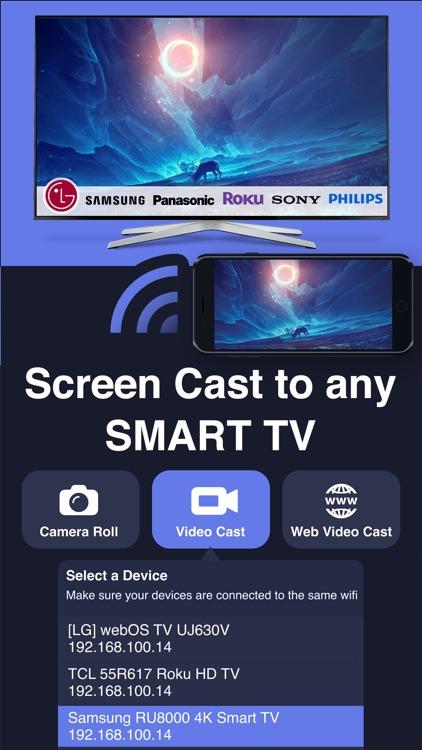 Screen Mirroring + TV Cast