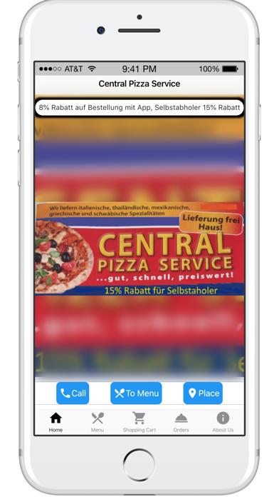 Central Pizza ServiceScreenshot von 1