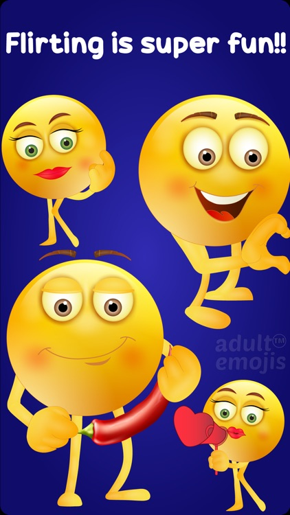 Adult Emoji Keyboard Stickers