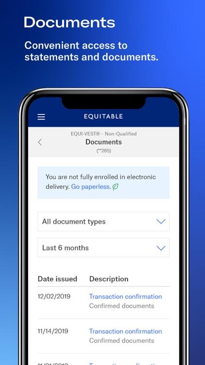 Equitable Mobile App screenshot-5