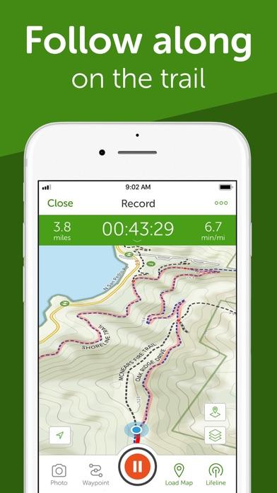 AllTrails: Hike, Run & Cycle app image