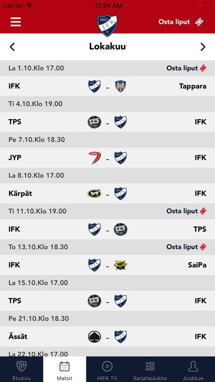 HIFK screenshot-1