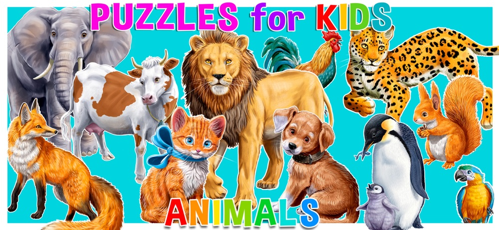 Puzzle games for kids: Animal Cheat Codes
