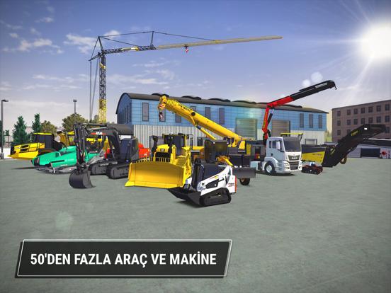 Construction Simulator 3 ipad ekran görüntüleri