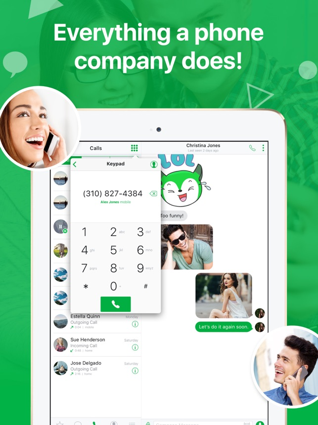 textPlus: Unlimited Text+Calls on the App Store