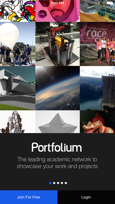 Portfolium screenshot 1