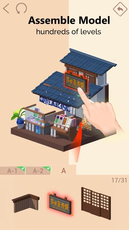 Pocket World 3D -unique puzzle screenshot-0