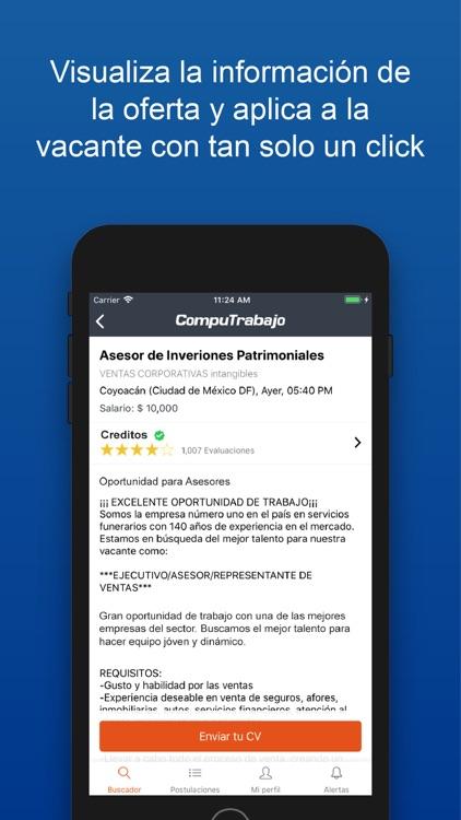 CompuTrabajo: Empleo y Trabajo screenshot-4