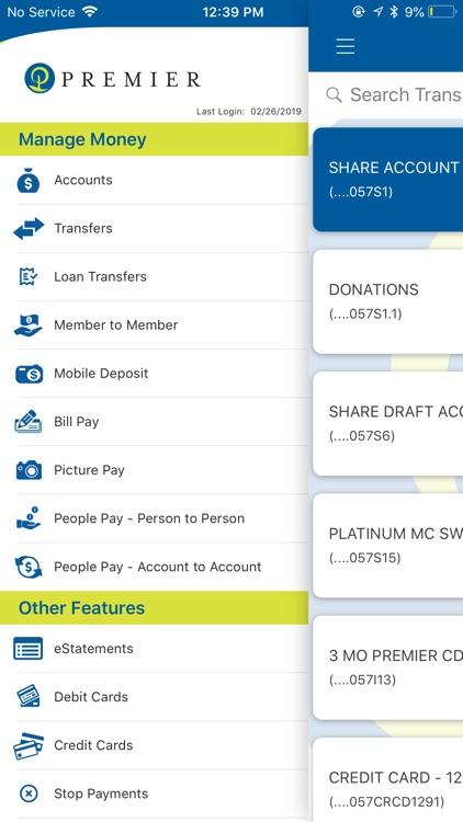 Premier Credit Union Mobile