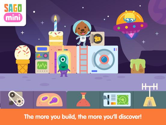 Sago Mini Space Blocks screenshot 8