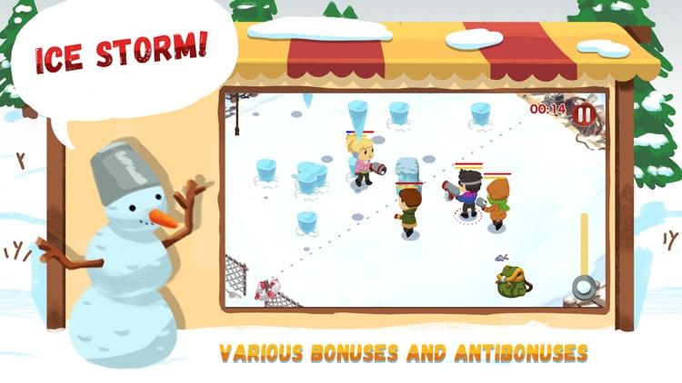 Snowicks: Snow Battle screenshot-4