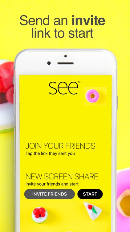 SEE Screen Share & Video Chat