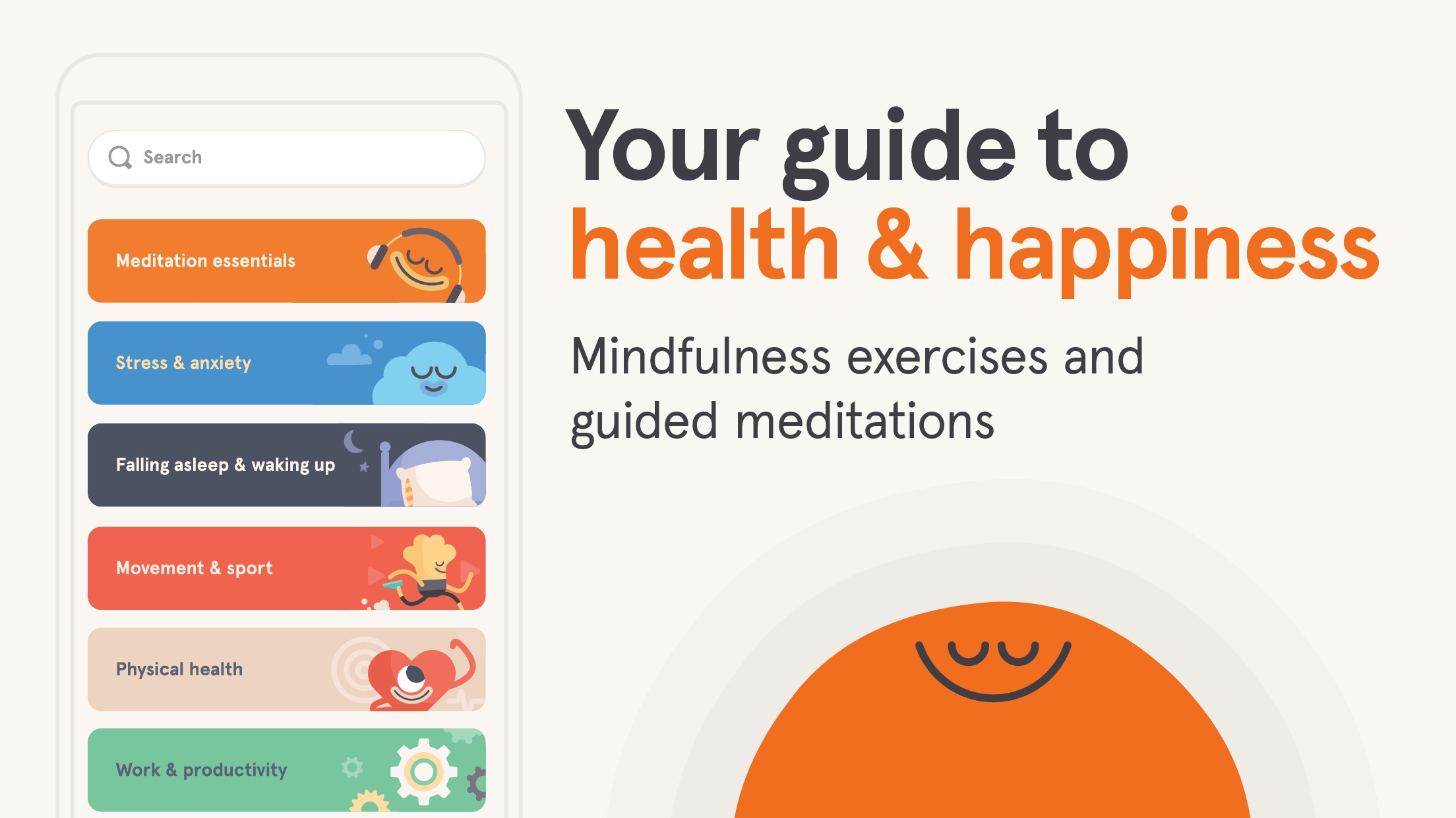 Headspace: Meditation & Sleep Screenshot