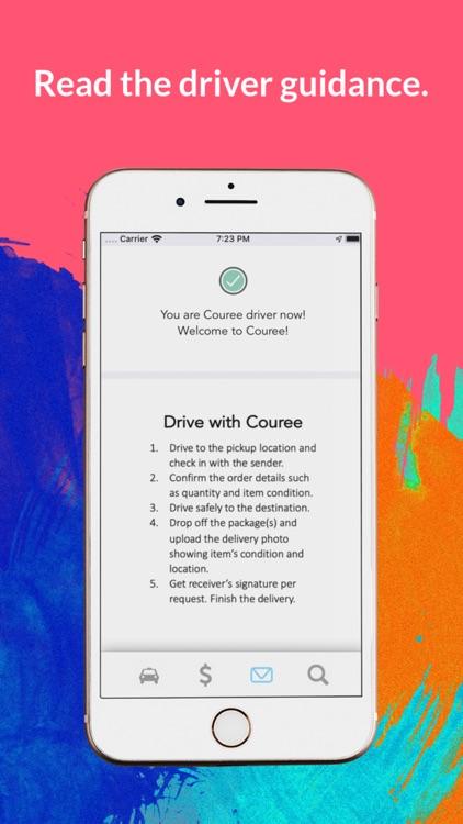 Couree Driver screenshot-7