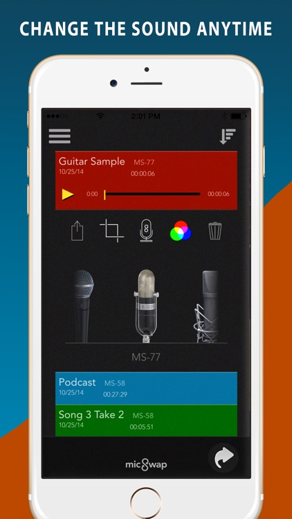 MicSwap: Mic Modeler Recorder screenshot-3