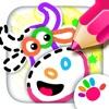 画画游戏卡通农场手机绘图动物学习涂色画图软件教育绘画
