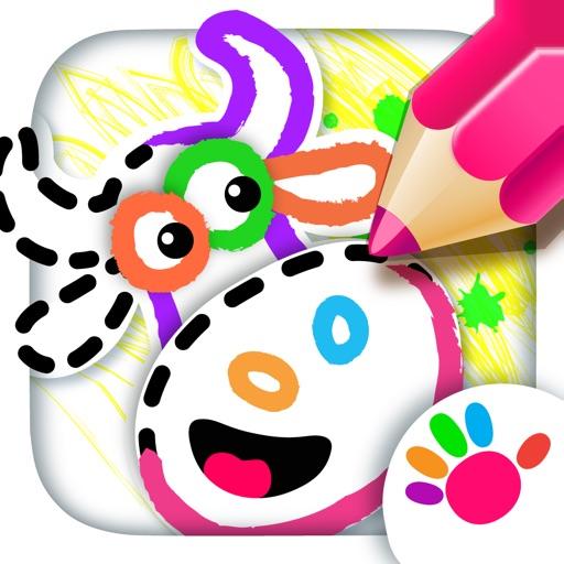 Bini рисовалка игра раскраска по Bini Bambini Ltd
