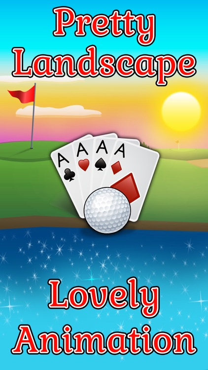 Golf Solitaire Pro! screenshot-1