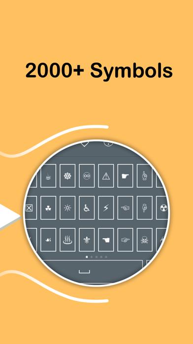 Symbol Keyboard - 2000+ Signs-3