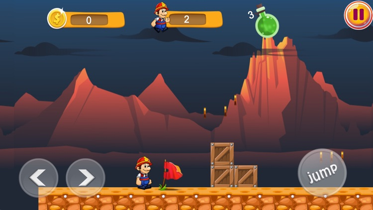 Ted Boy Super Adventure Worlds screenshot-7