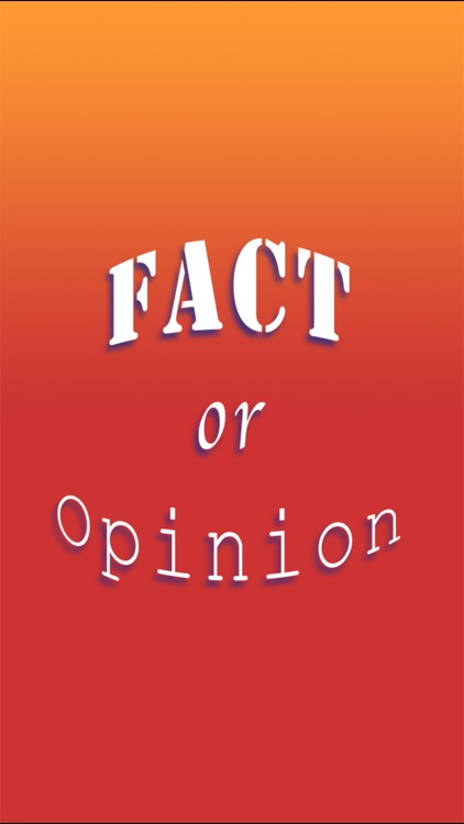 Brainy Skills Fact or Opinion